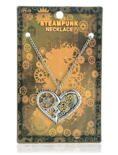 Steampunkowy naszyjnik