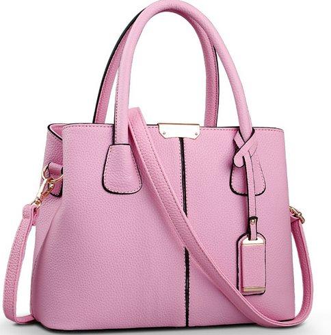 różowa torebka klasyczna