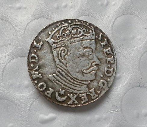grosz Stefana Batorego 1582