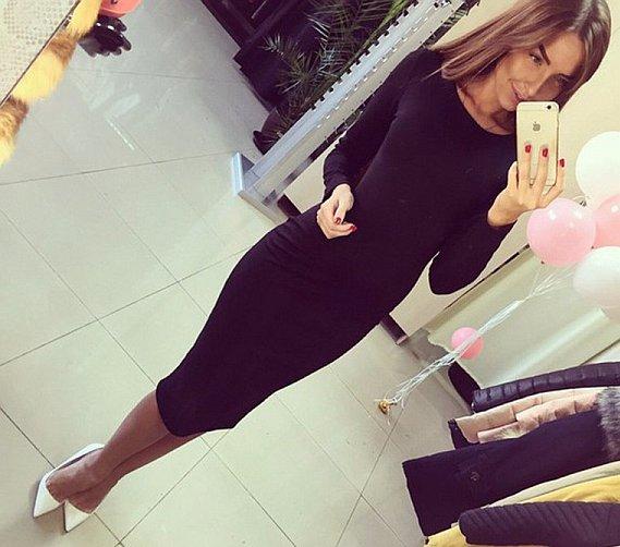 bordo sukienka aliexpress