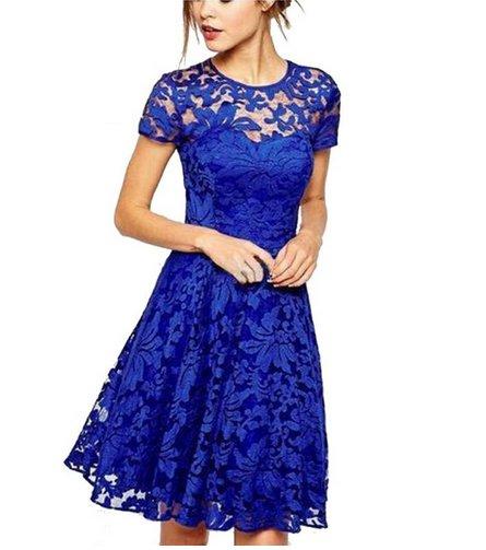 romantyczna sukienka koronka