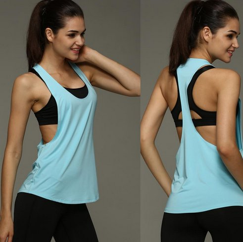koszulka fitness Aliexpress