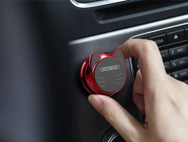 magnetyczny uchwyt na smartfona do samochodu