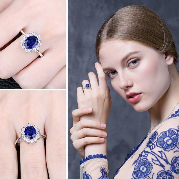 pierścionek z szafirem aliexpress