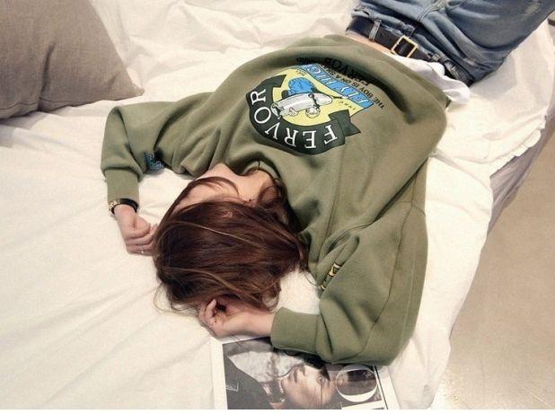 bluza w kolorze army green aliexpress