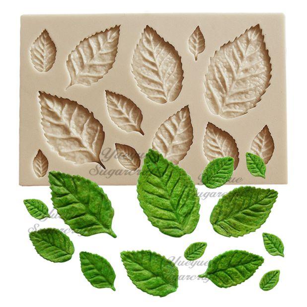 foremka silikonowa liście aliexpress