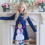 sukienka bałwanek aliexpress