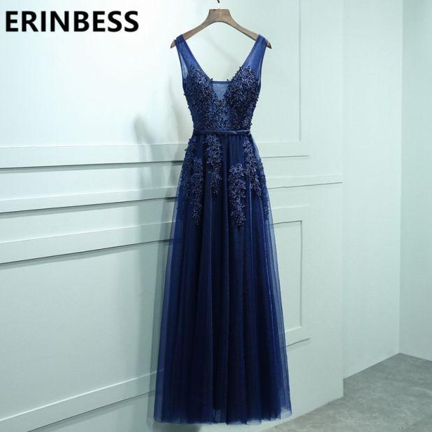 sukienka granatowa aliexpress