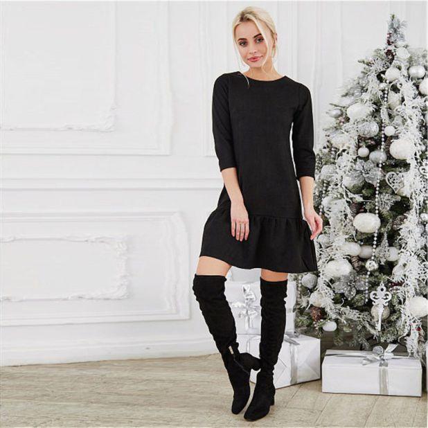 sukienka mała czarna aliexpress