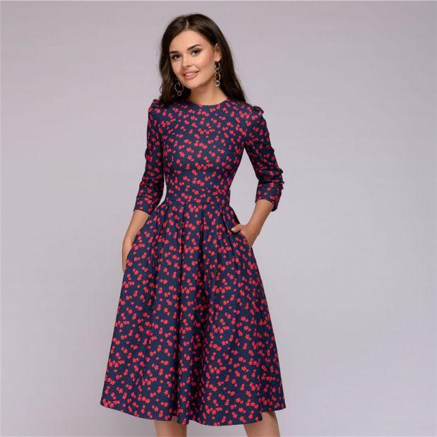 sukienka w gwiazdki aliexpress