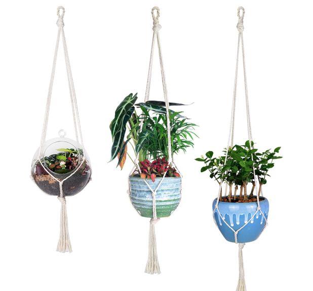 wieszaki na doniczki z roślinami aliexpress