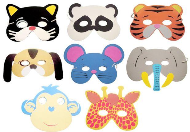 zabawne maski na przyjęcie urodzinowe