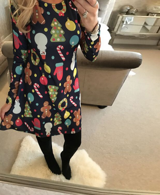 świąteczna sukienka aliexpress