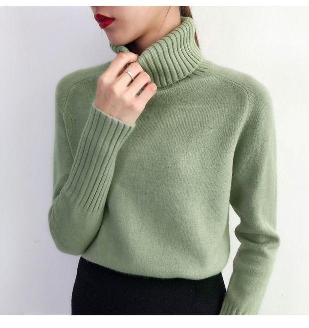 Elegancki sweter ze ściągaczami Aliexpress