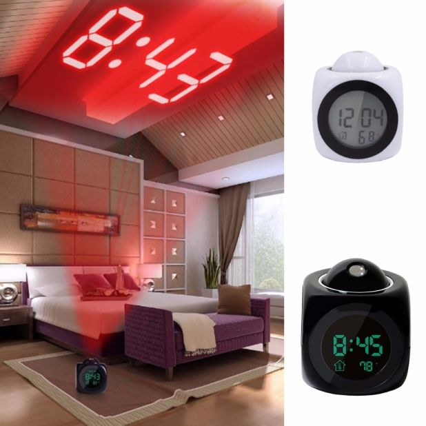 budzik LED projekto aliexpress