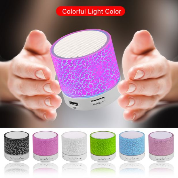 głośnik bluetooth led aliexpress