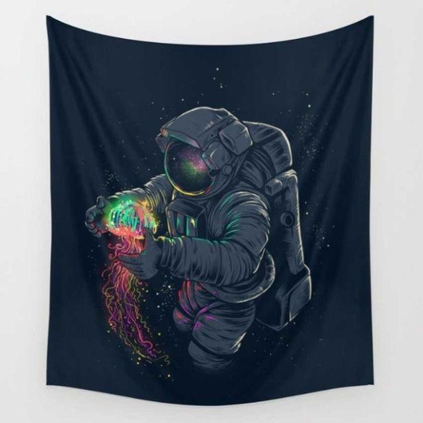 gobelin astronauta aliexpress