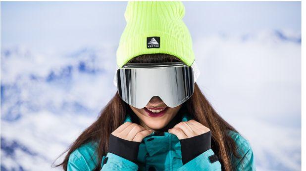 gogle narciarskie vector double lens aliexpress