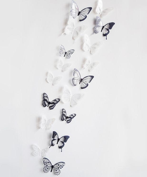 naklejki na ścianę motyle aliexpress