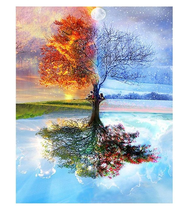 obraz maluj po numerach Landscape aliexpress