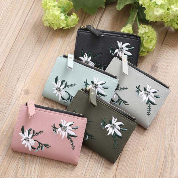 portfel z motywem kwiatów aliexpress