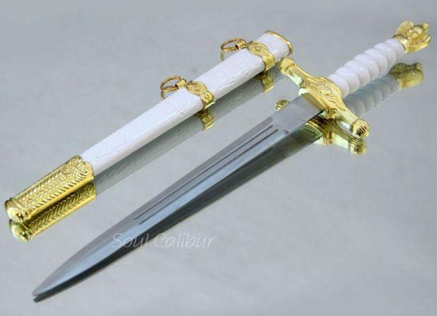 pozłacany mały miecz aliexpress