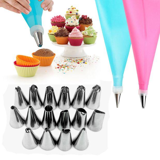 zestaw do dekorowania ciasta aliexpress