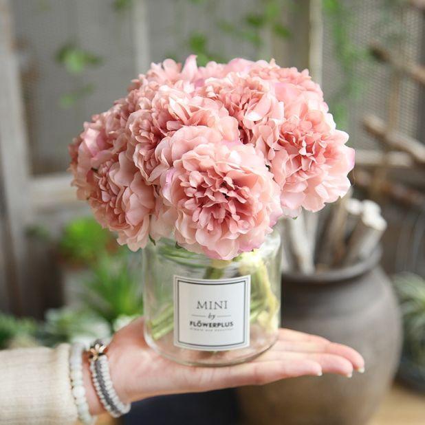 śliczny bukiet kwiatów aliexpress
