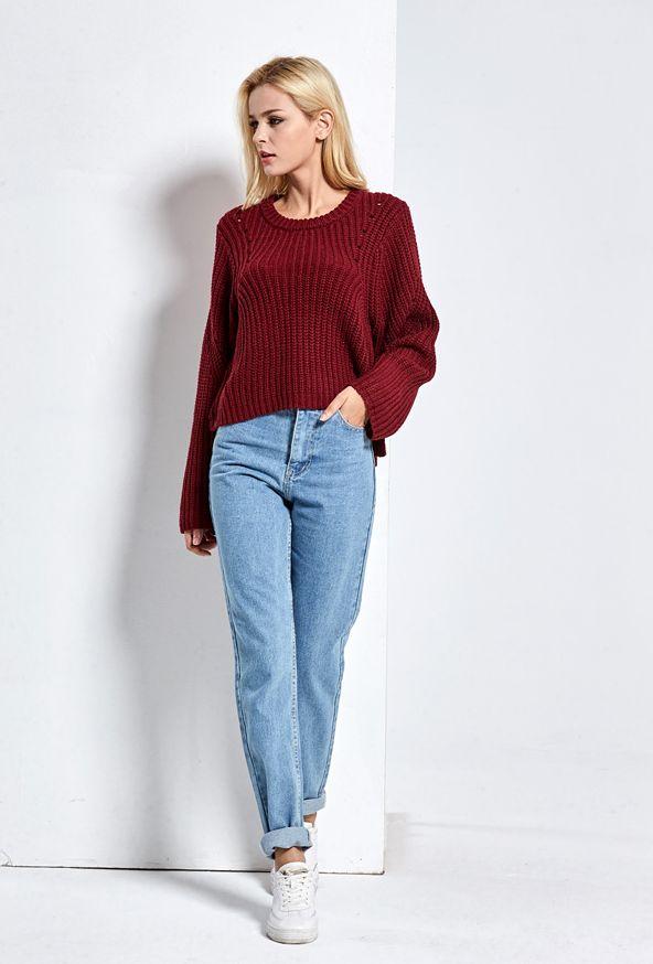 aiexpress wygodne damskie jeansy