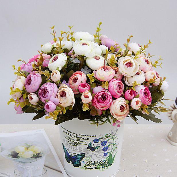 bukiet herbacianych róż aliexpress