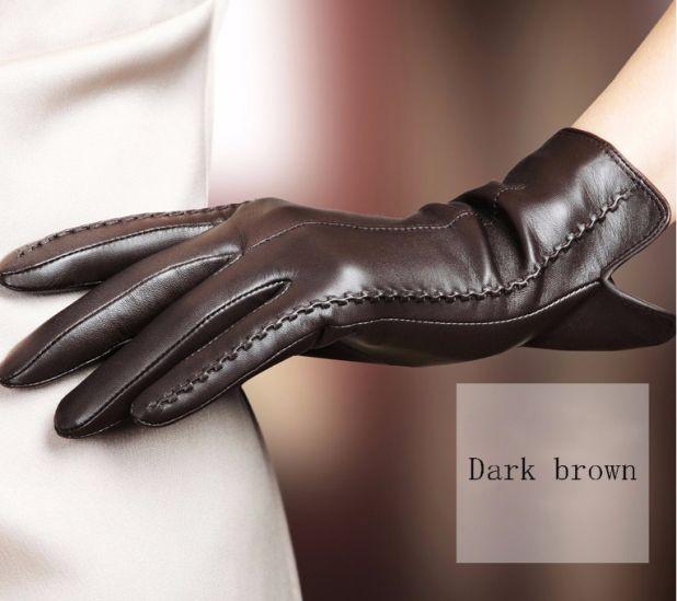 luksusowe damskie rękawiczki aliexpress