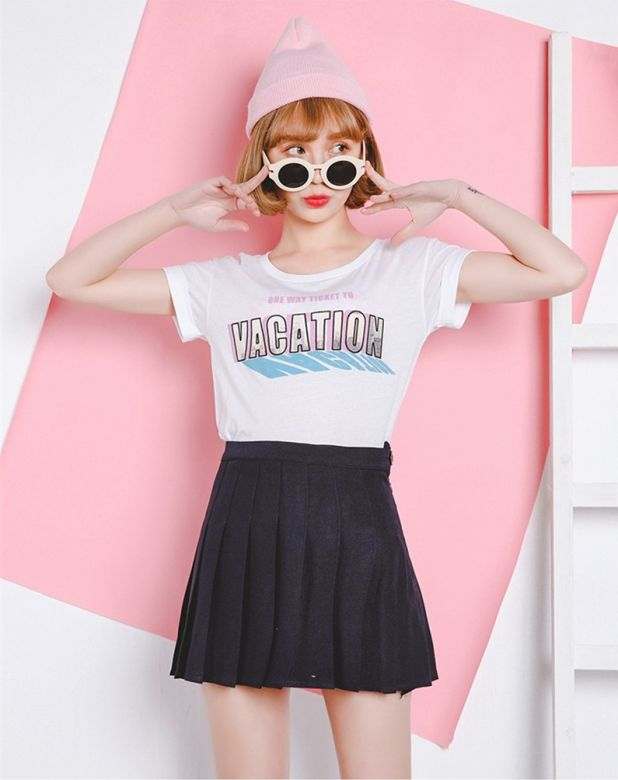 spódnica mini harajuku aliexpress