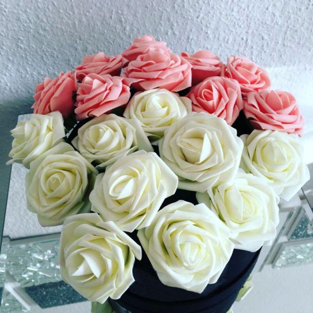 tradycyjne sztuczne róże aliexpress