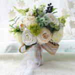 aliexpress romantyczny bukiet ślubny