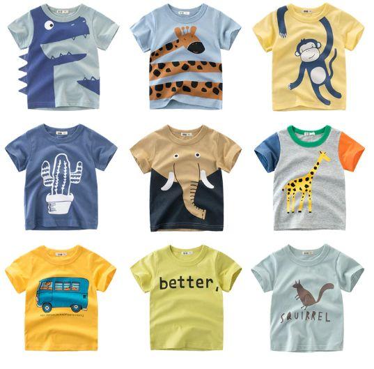 aliexpres bawełniane koszulki dla chłopców