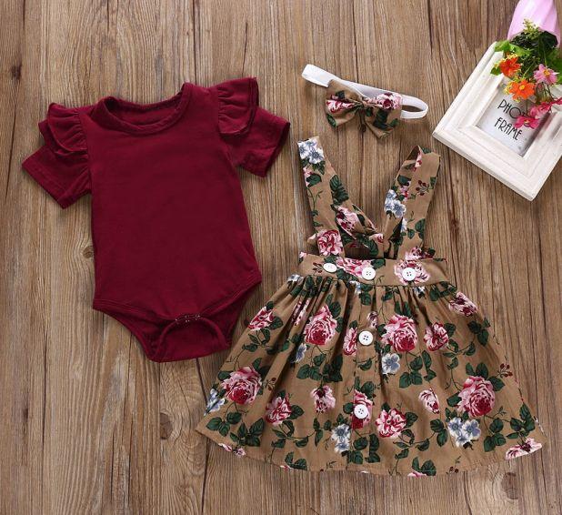 aliexpress zestaw ubrań dla dziewczynki