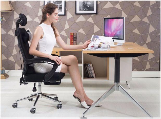 aliexpress krzesło biurowe z podnóżkiem