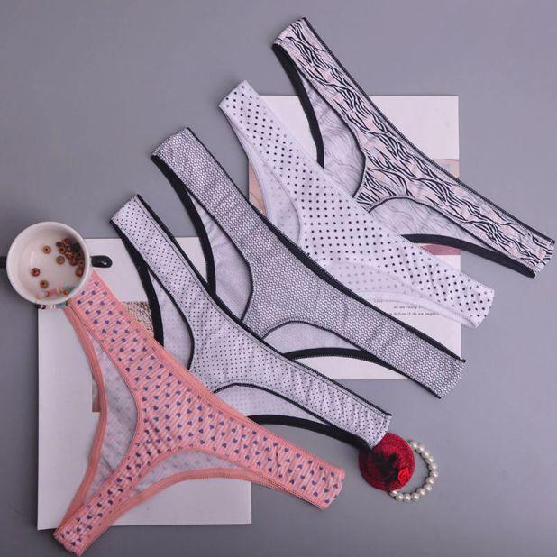 aliexpress stringi z bawełny w kolorowe motywy