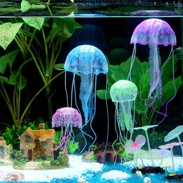 aliexpress ozdobne meduzy do akwarium
