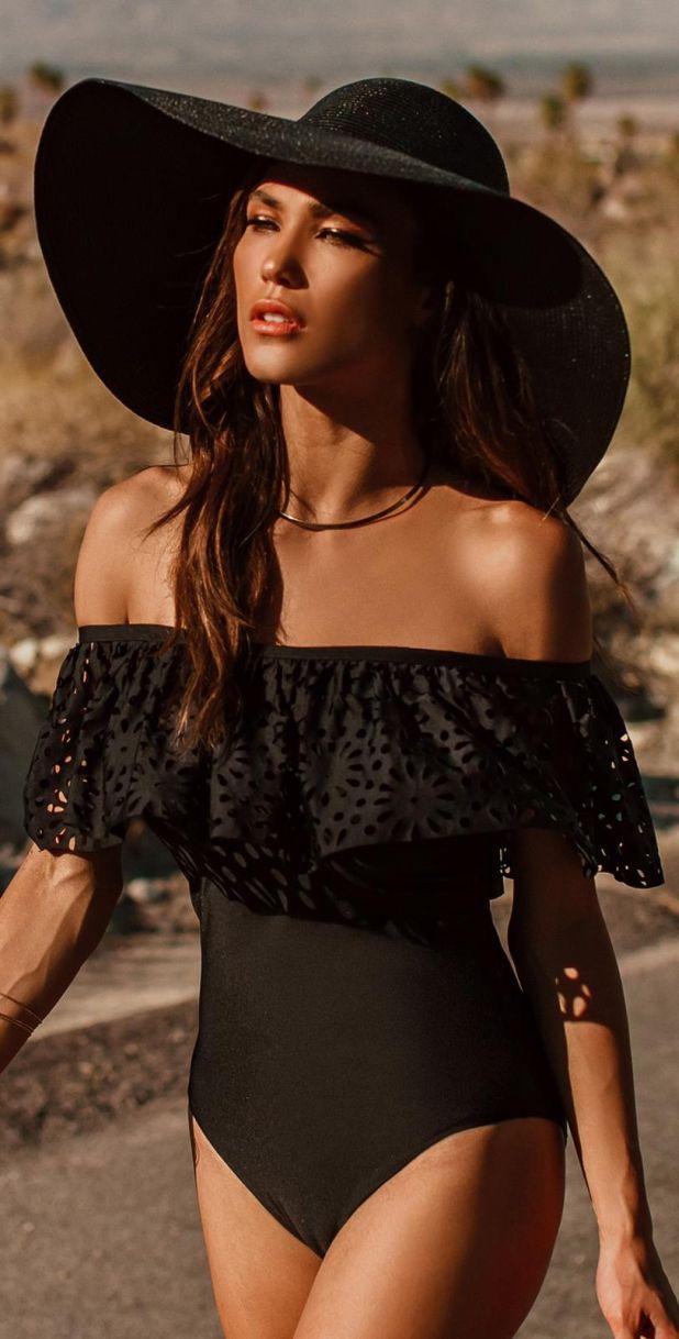 aliexpress kostium kąpielowy jednoczęściowy czarny
