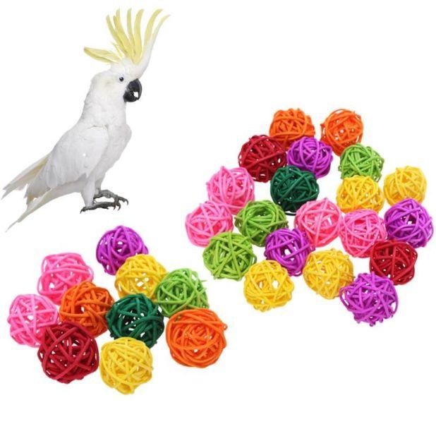 aliexpress rattanowe kulki dla ptaków