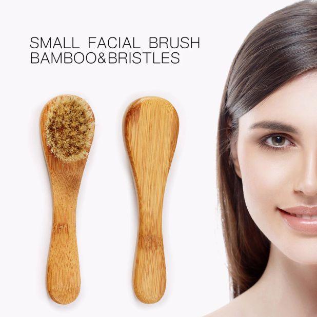 aliexpress szczoteczka do twarzy z naturalnego włosia