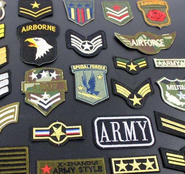 naszywki militarne na ubrania